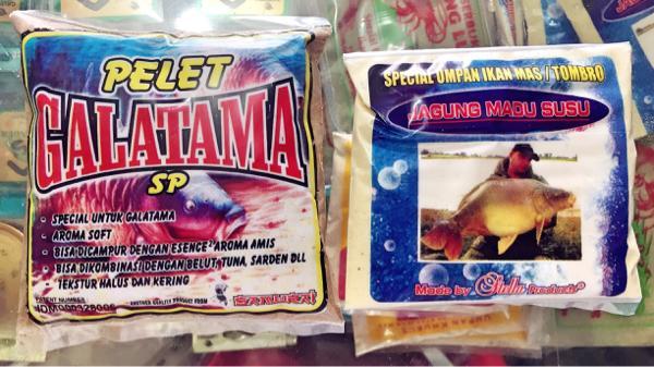 Harga Spesial!! Umpan Pelet Stella Galatama Spjagung Madu Susu - ready stock