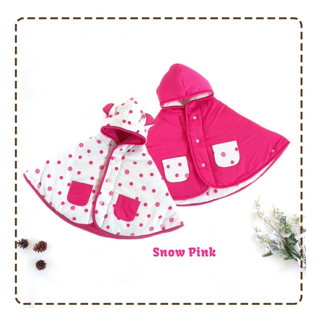 Cuddle Me Baby Cape Jaket Bayi / Selimut Bayi - Snow Pink
