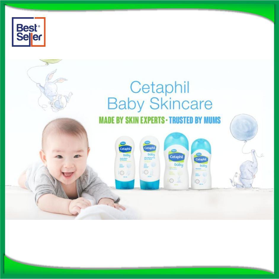 Cetaphil Baby Moisturing Bath &Wash 230ml - Produk Sabun Bayi Paling Laku - BJ47884