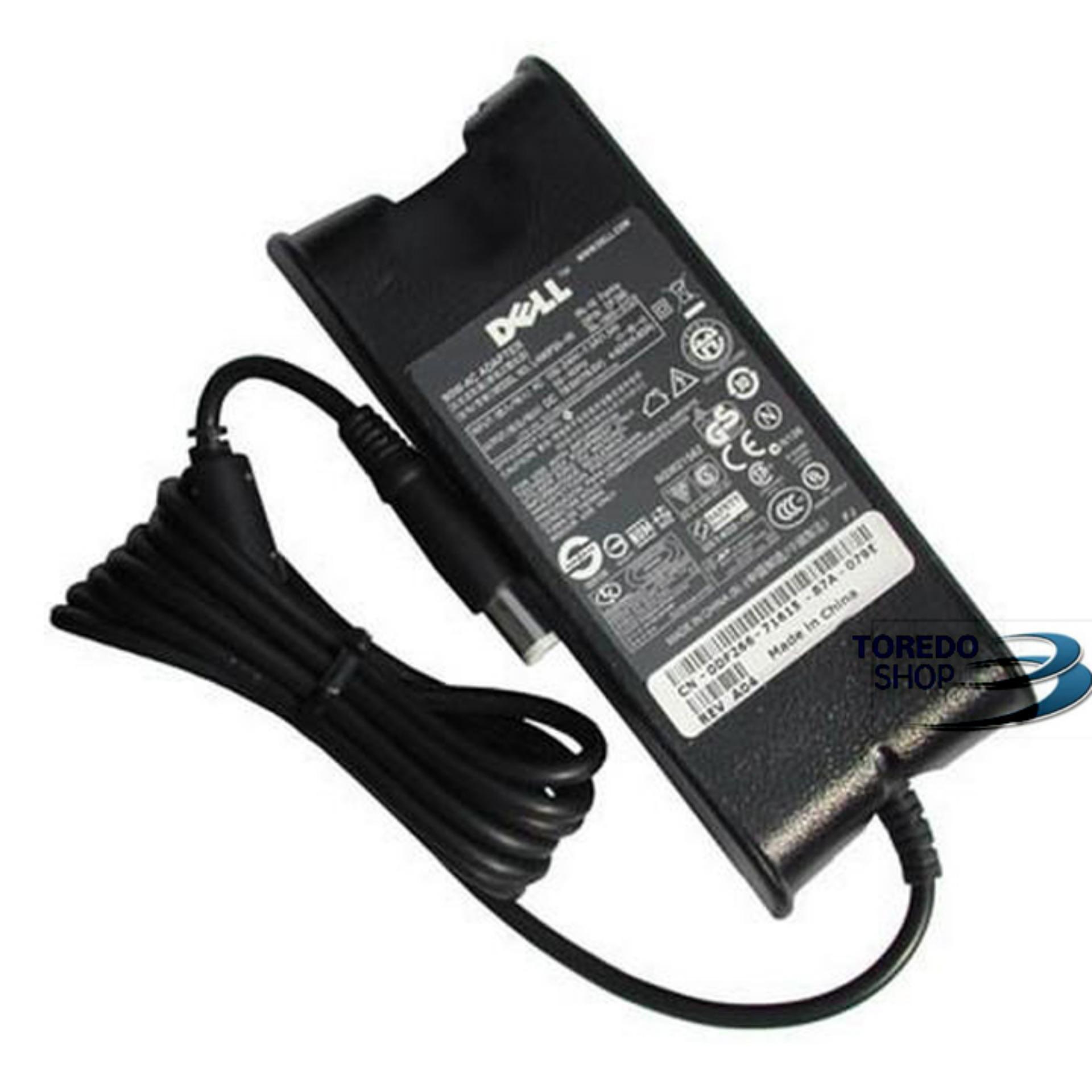 Adaptor / Charger Laptop Dell 19.5V 3.34A (7.4*5.0) PA-12 2 Lubang Ori