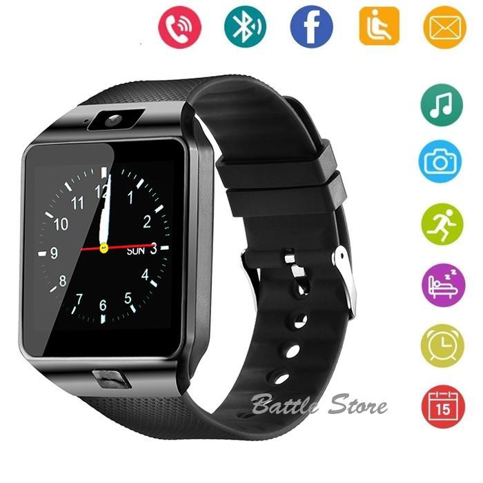 Smartwatch U9 / DZ09 / Smart Watch DZ09 Support Sim Card & Memory Card / Jam Tangan Android