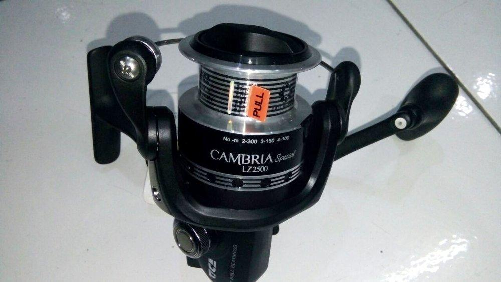 Reel Spinning Tica Cambria LZ2500 7 Ball Bearings