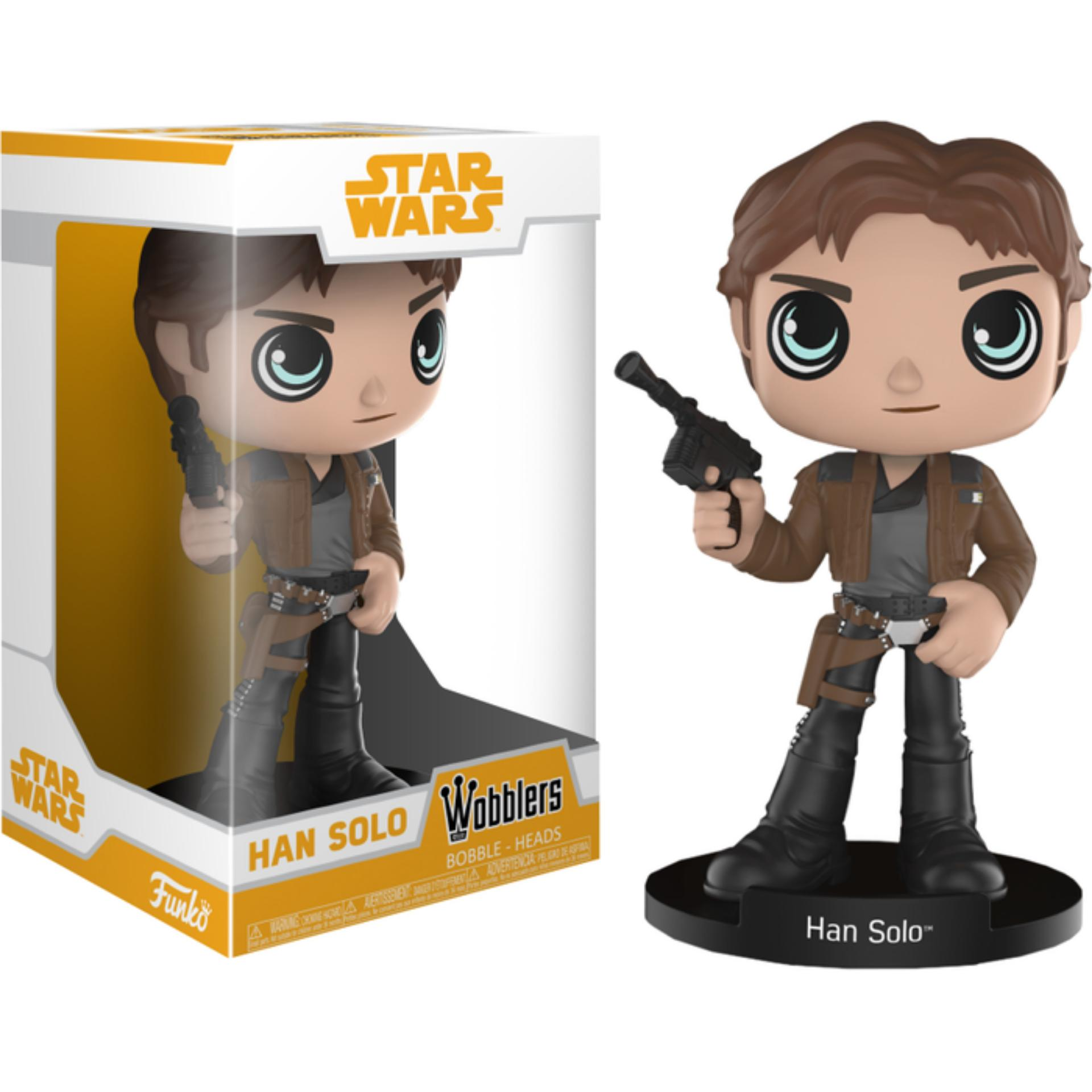 Funko Pop Wacky Wobbler Star Wars : Solo - Han Solo