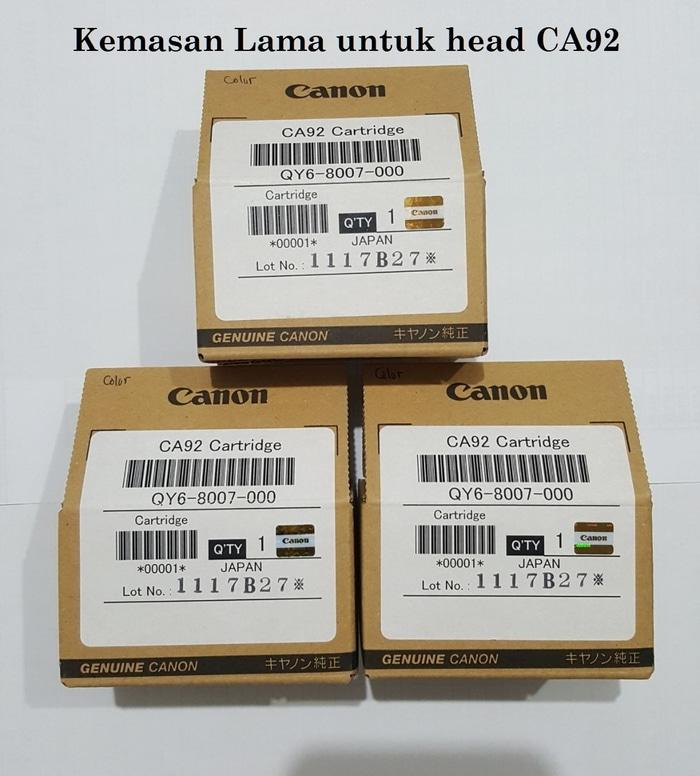 SALE - Print Head Cartridge Canon CA92 Color ASLI G1000 G2000 G3000 G4000 Original