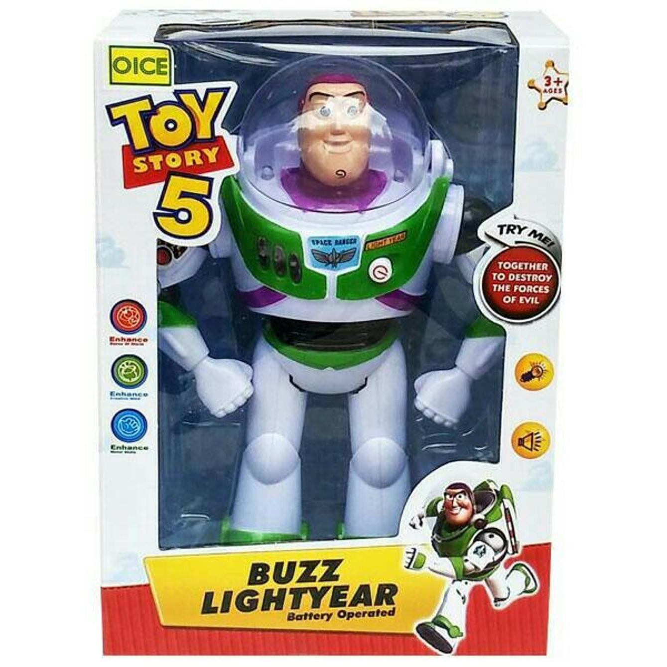 [PROMO] Mainan Anak Buzz Lightyear Light Year Toy Story 5 Toys Robot