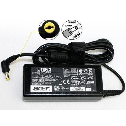 ACER Ori Adaptor Charger Laptop 19V 2.1A 40W/ ADP-40 TH For Acer Aspire One 14 Z1401 14 Z1402 Z1401-N2940 Z1401-C283 Series/ 5.5*2.5mm termasuk kabel power