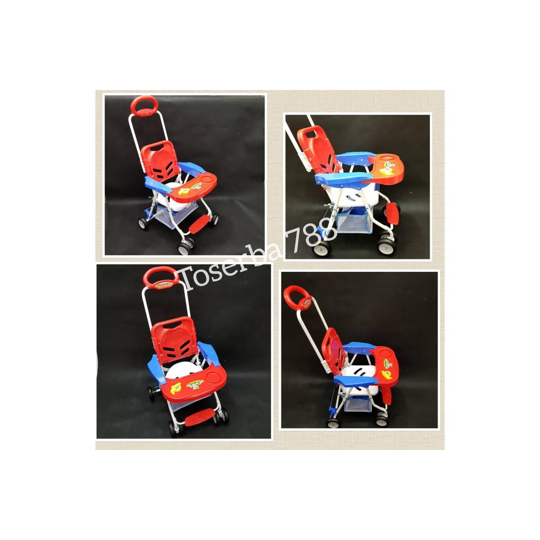 Baby Swing And Chair Stroller Ayunan Kursi Makan Merk Tajimaku Bayi Joe Yi Family Fc 8288 Anak Gosend