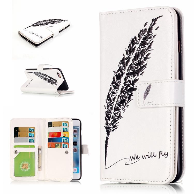 Samsung Dompet Kulit Kerang Sarung Kulit Ukiran 3 Dimensi Lukisan Kucing Kartu