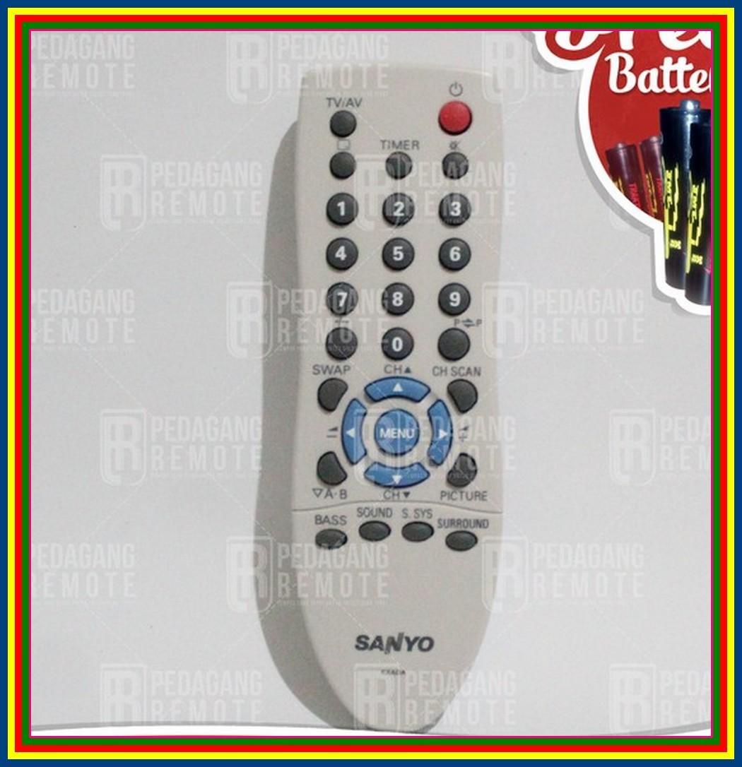 Remot Remote TV Sanyo Tabung Kxada Jxpsg Ori Original