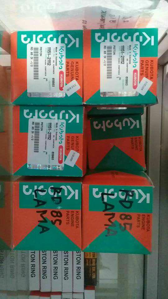 Piston ring kubota RD85
