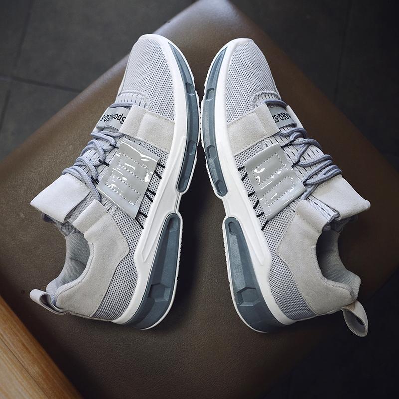 Populer pria Sepatu Lari Sepatu Olahraga Bernapas Sepatu Olahraga Berkualitas Tinggi Men's Running Shoes Breathable Sports