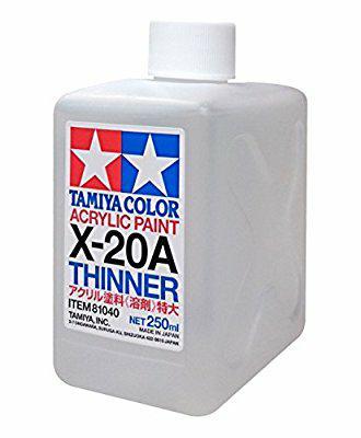 Best Top Seller!! Tamiya 81040 X-20A Thinner Acrylic Paint 250Ml - ready stock