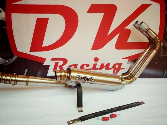 Knalpot Racing Yamaha Mt 25 Pdk Titan By Dk Racing Bekasi.