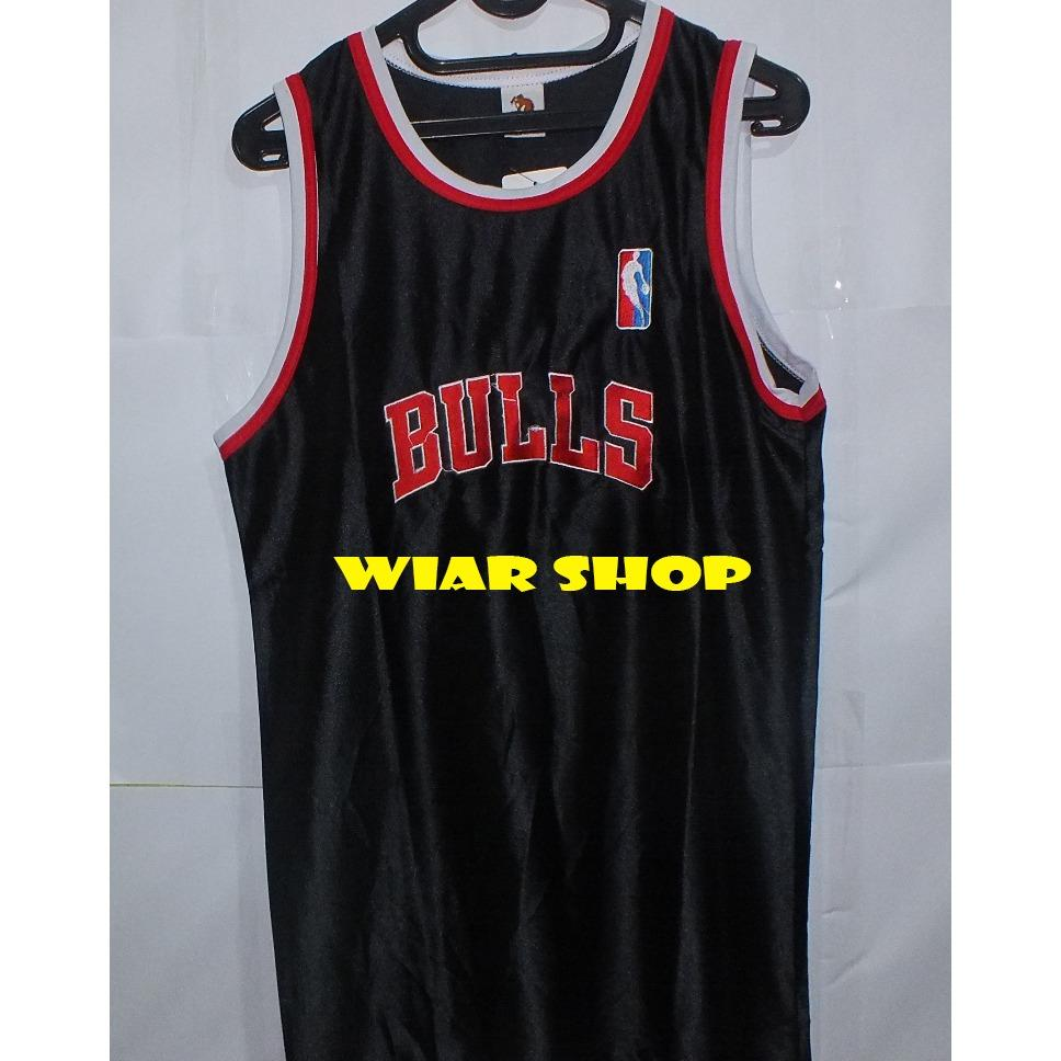 455bdb6cc Grosir Jersey Basket Motif Terbaru Singlet Chicago Bulls