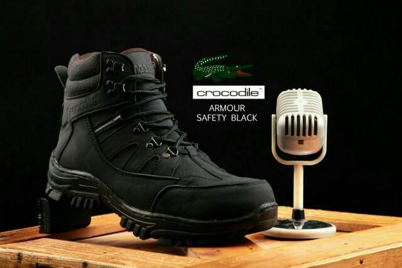 Sepatu Boots Pria Crocodile Cordia Safety Boot Murah Tracking Touring Proyek tactical delta USA army