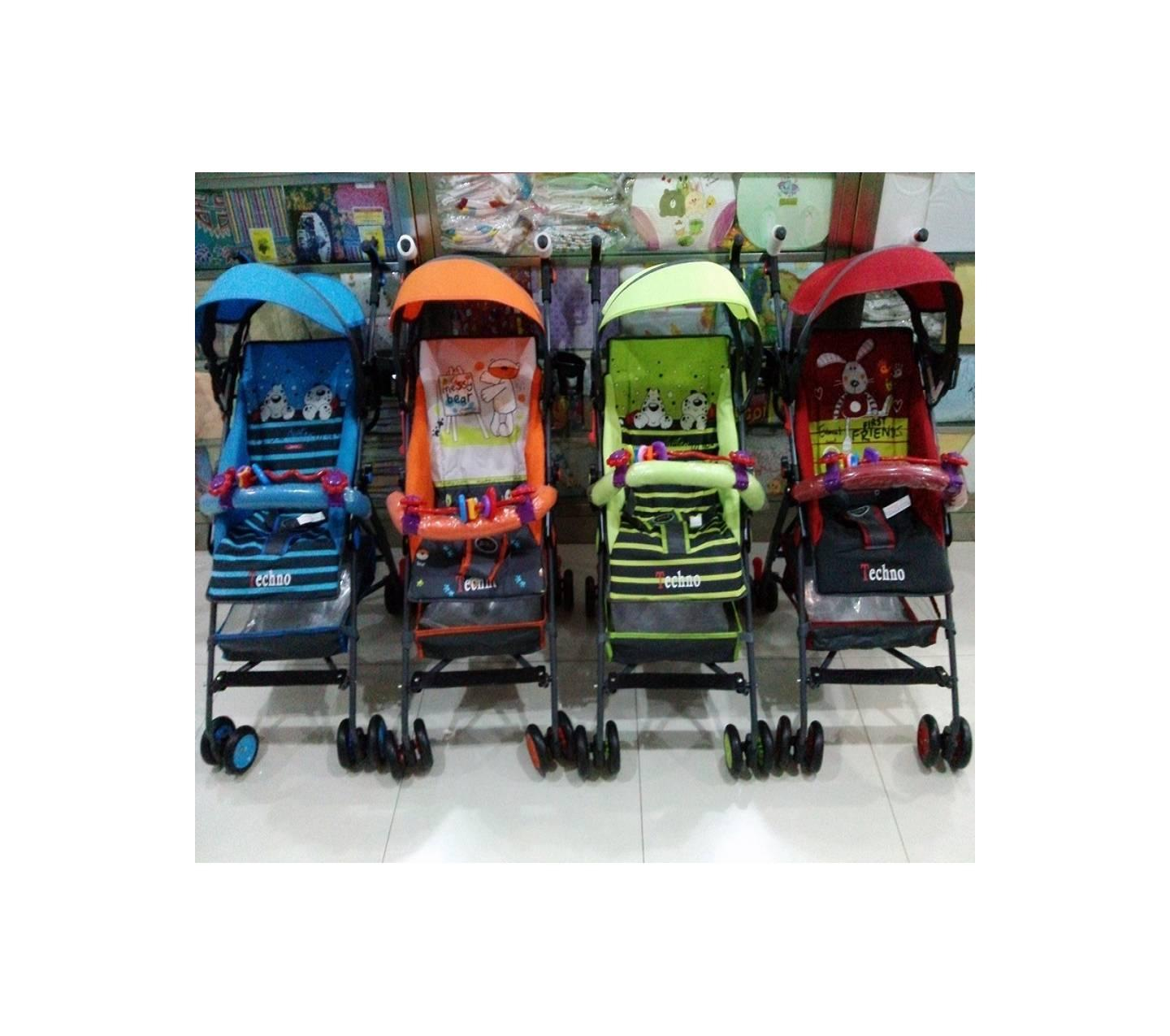 Stroller Pliko Techno 107 Buy Sell Cheapest Stoller Buggy Best Quality Product Deals Kereta Dorong Bayi Baby Asli