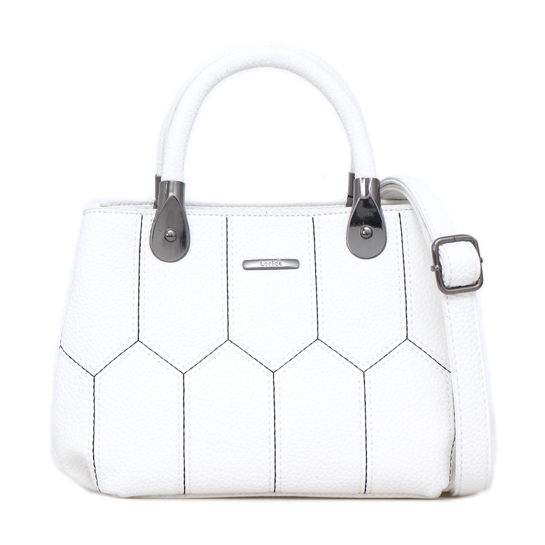 Tas Wanita Lorica by Elizabeth Audene Handbag White
