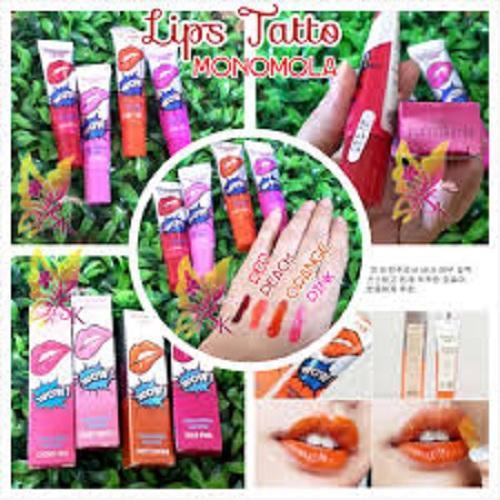 Lips Tattoo WOW MONOMOLA KOREA / Tato bibir - Lip tatto - Lips limited edition - Lips termurah -PALING DI CARI