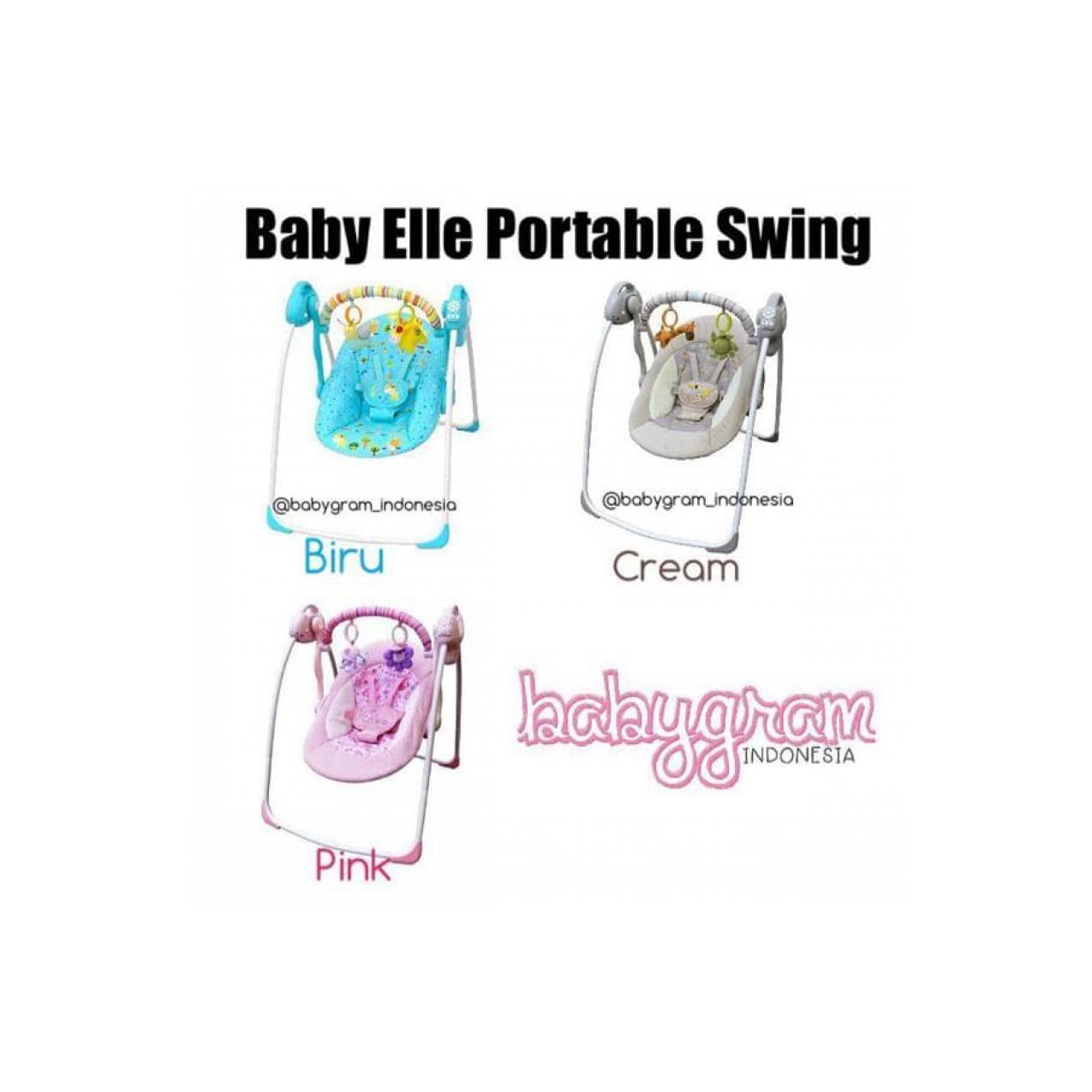Harga Best Babyelle Electric Swing Baby Elle