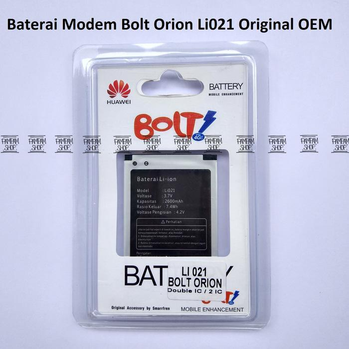 DISKON Baterai Modem Bolt Orion Movimax MV 1 Li021 Original OEM | Battery