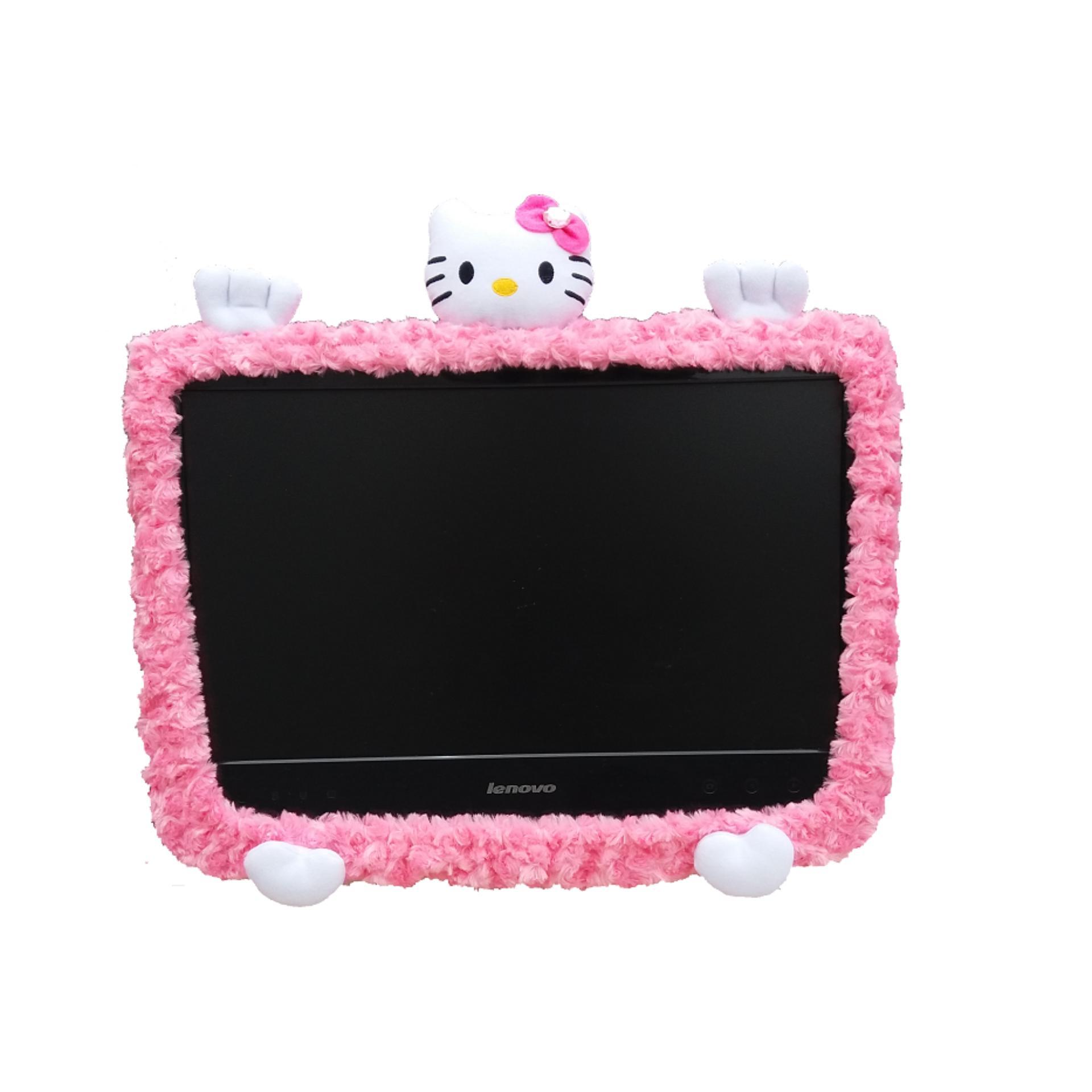 Hello Kitty Karakter 32 Inch Boneka Bando LCD