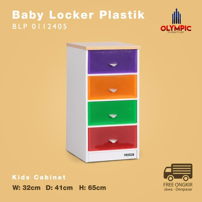 Olympic Baby Locker Plastik Laci Plastik - BLP 0112405 - Khusus Jawa Denpasar