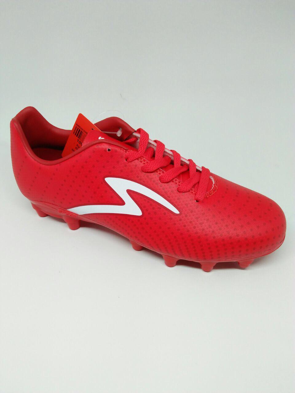 Sepatu bola specs original Barricada Guardian FG merah new 2018