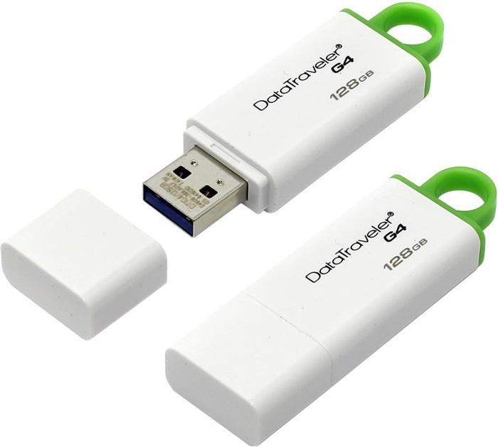 Kingston Datatraveler Generation 4 (DTIG4) - 128GB - Green