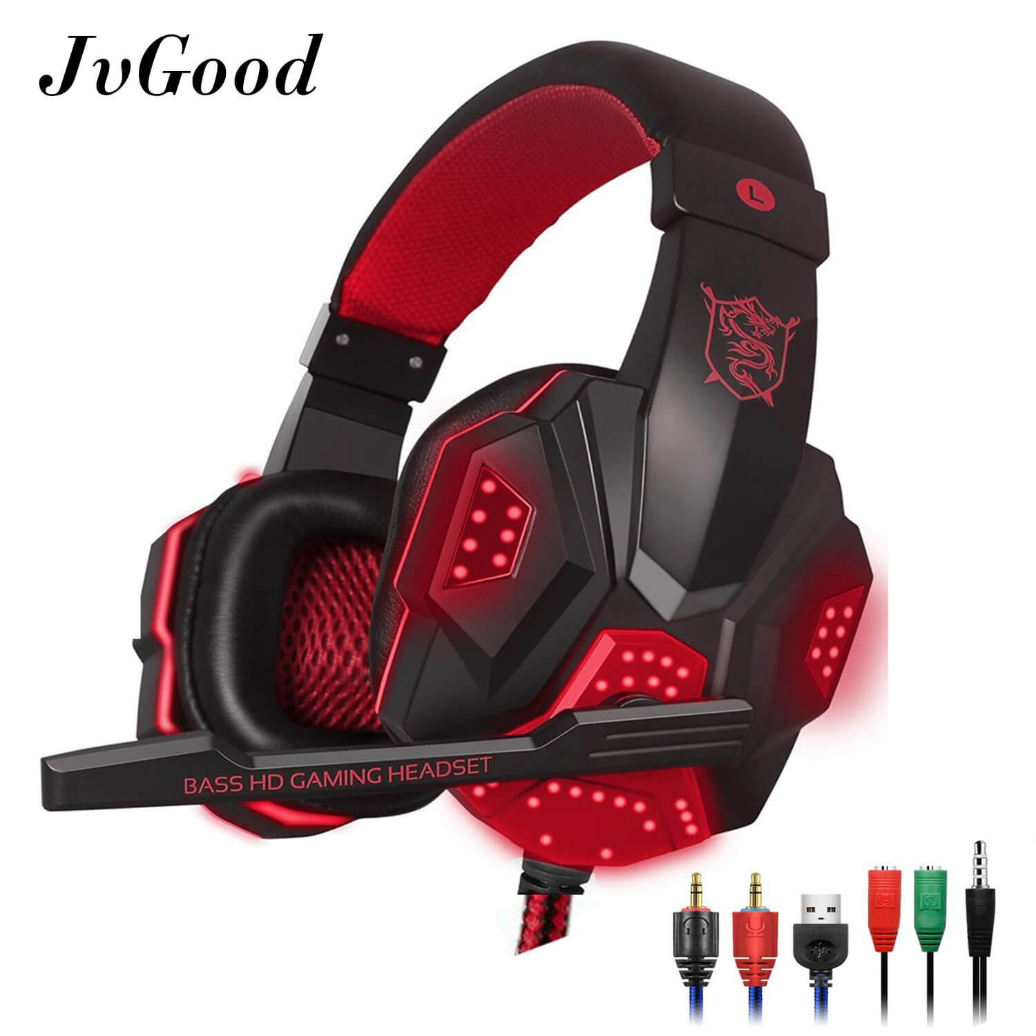 Jvgood Permainan Headset Wired Gaming Workout Headphone Sport Earphone With Mikrofon Untuk Iphone Ipad Android Telepon By Jvgood.