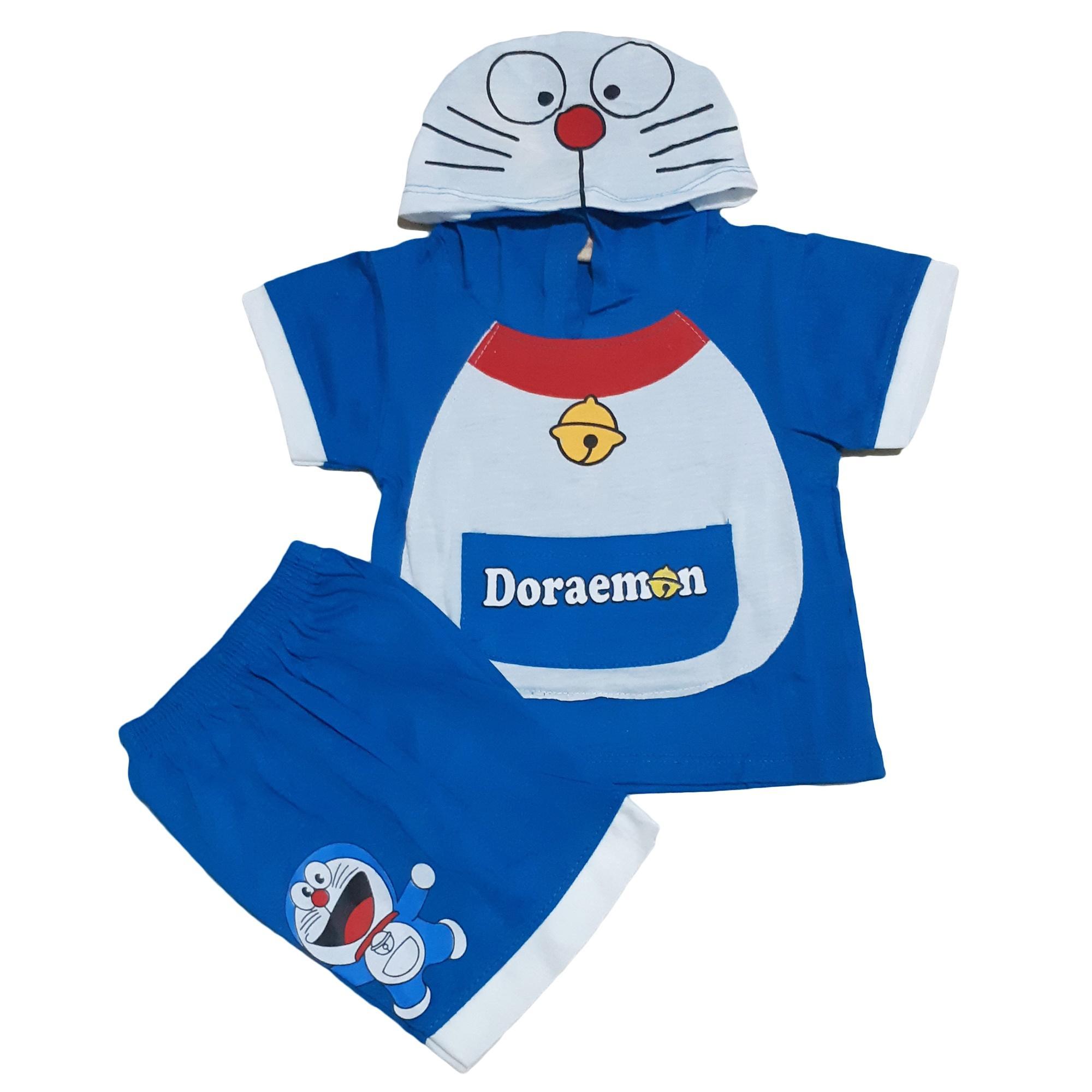 Jual Baju Atasan Anak Laki Setelan Kaos Merah Ikan Ampamp Celana Jeans Bros Dasi Dan Ikat Pinggang Hm Doraemon Pendek Perempuan Unisex