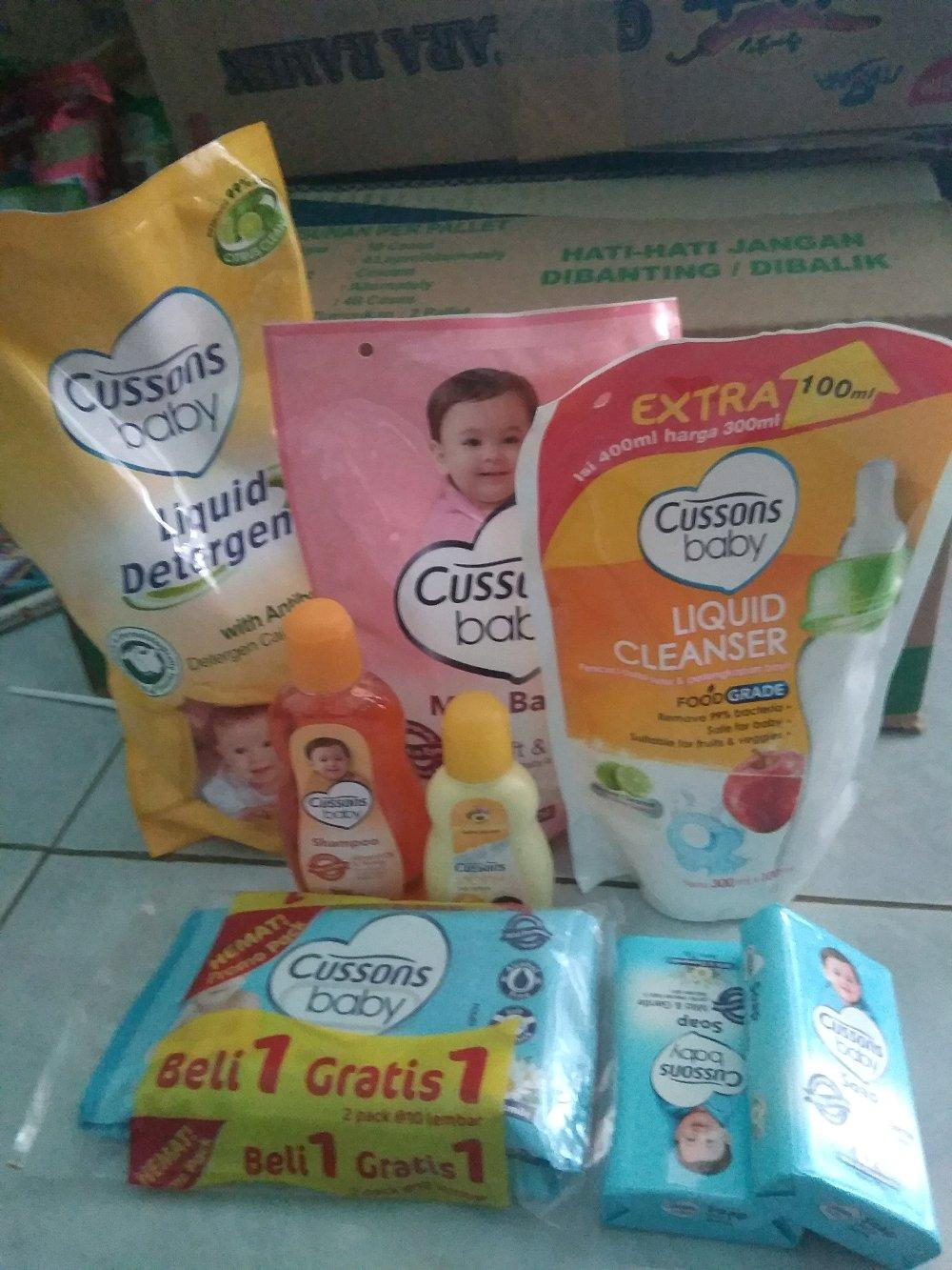 Buy Sell Cheapest Cussons Gift Set Best Quality Product Deals Baby Mini Bag Daily Care Tersedia 3 Variant Paket