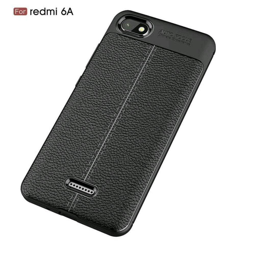 Case Auto Focus Softcase Casing for Xiaomi Redmi 6A - Hitam