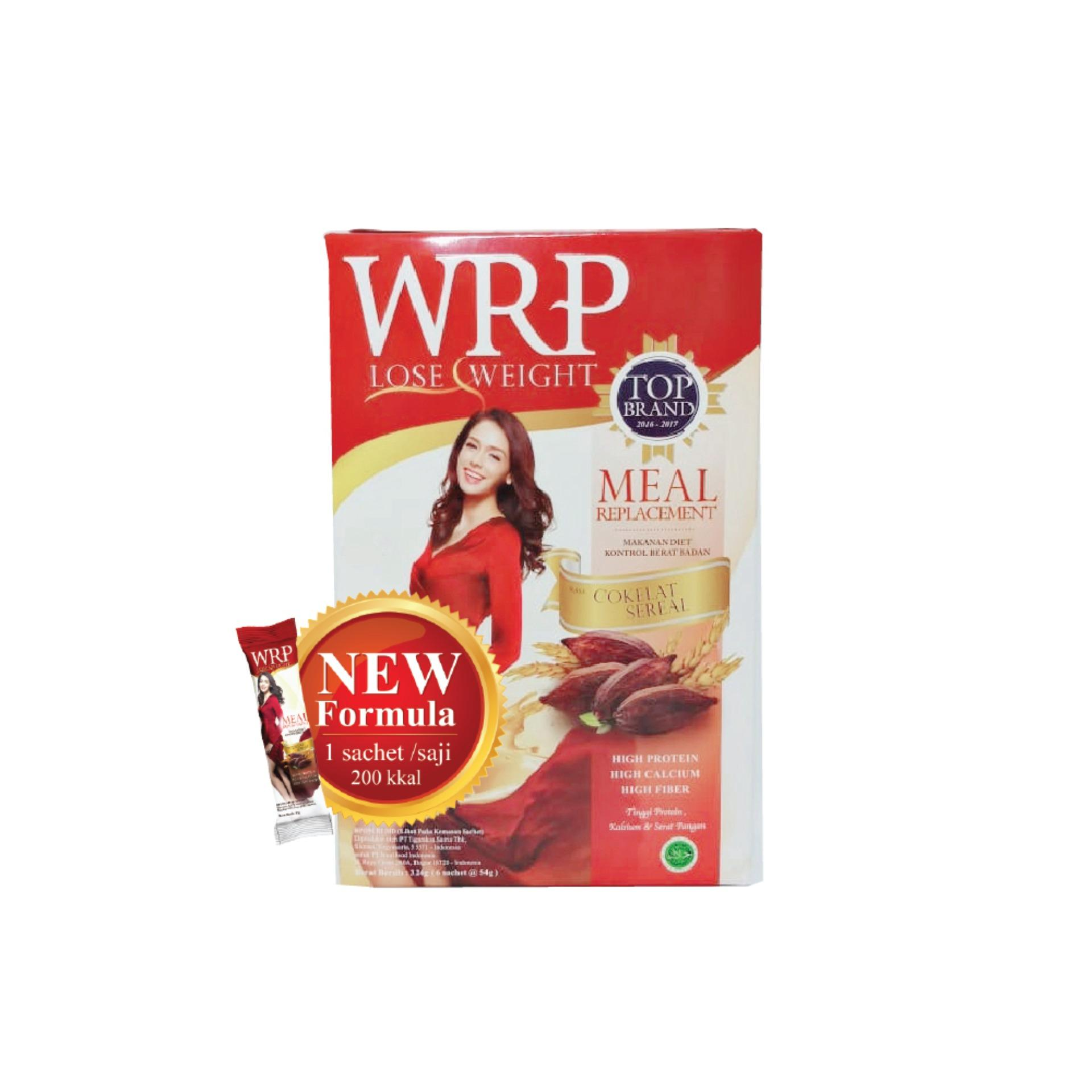 WRP Meal Replacement Chocolate Cereal 32G (6 Sachet)