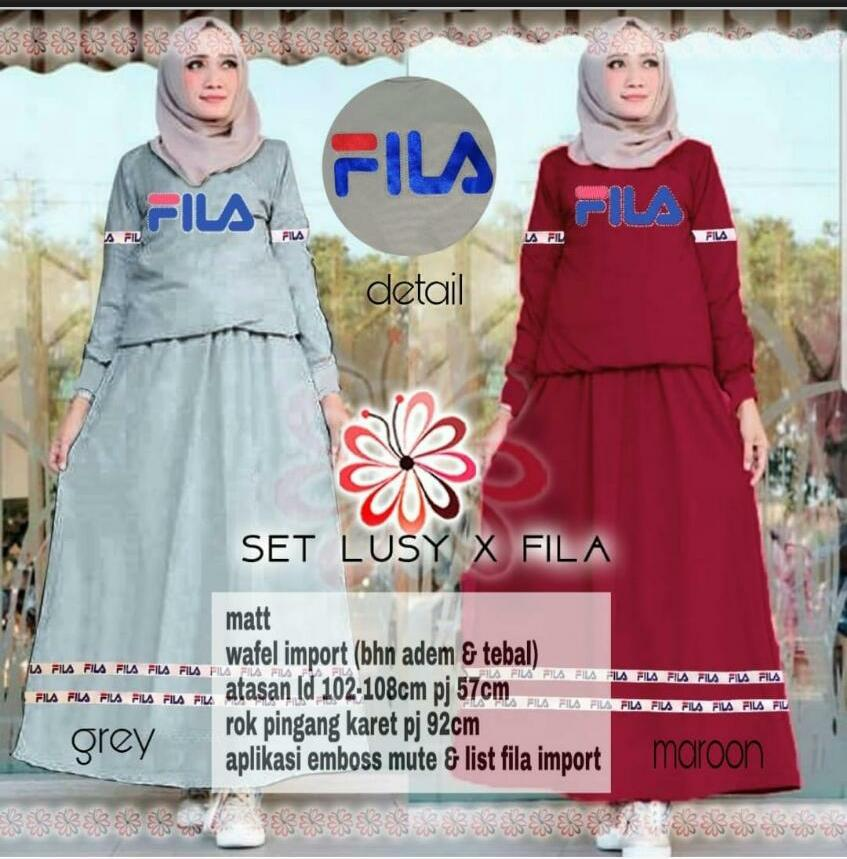 Buy Sell Cheapest Fila Set Baju Best Quality Product Deals