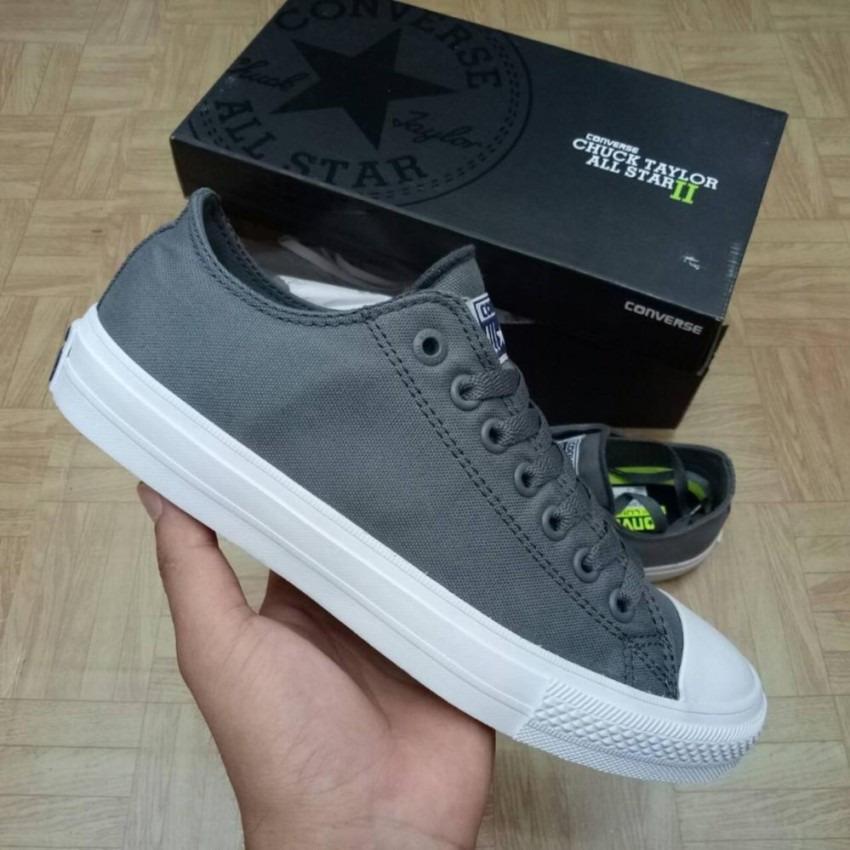sepatu sneakers converse all star r CT II Low Cut Unisex – Grey. Barang ini  di jual ... 48994457a0