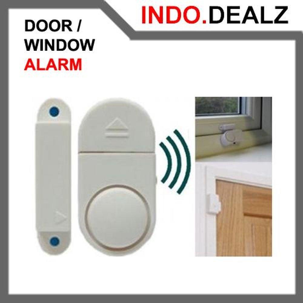 Buy 1 Get 1 Door Window Alarm Jendela Pintu Rumah Alat Pengaman