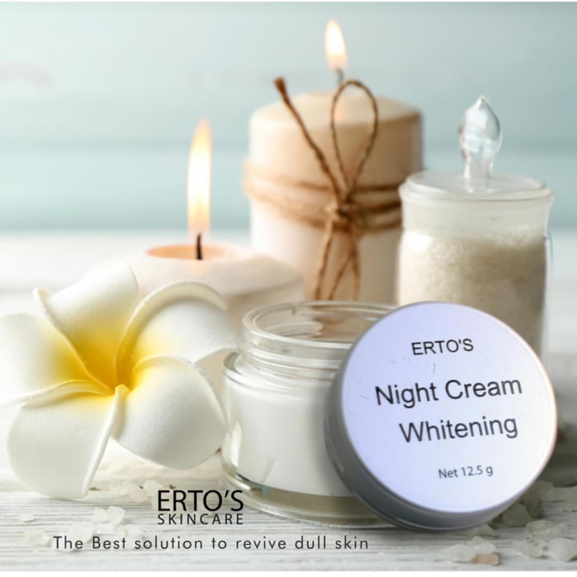 Buy Sell Cheapest Original Ertos Night Best Quality Product Deals Serum Kinclong Dermo Care Whitening Cream Skincare Bpom