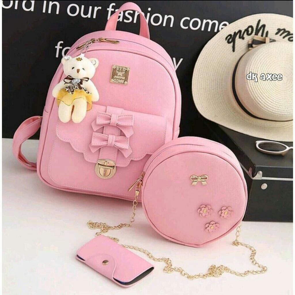 Hafiza store tas wanita 3in1 / tas punggung 3in1 PITA 2