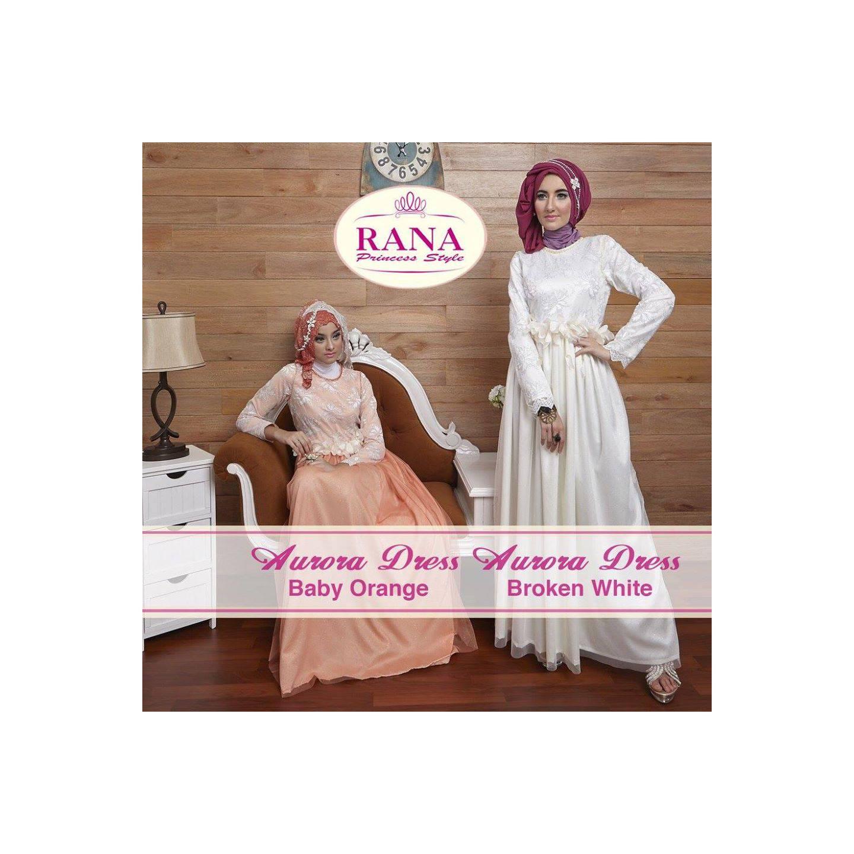 Rana Aurora Dress/Gamis Pesta/Baju Muslim Couple