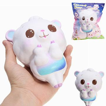 Rp 55.000. Squishy Dancing Sheep 15cm Slow Rising Rainbow and Galaxy Colour With Packaging Squeeze ToyIDR55000