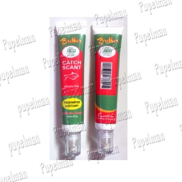 2pcs - CATCH SCANT Essence Alco Brother Umpan Ikan Mas Lele Nila Pasta Pancing Joran Air Tawar Makanan Makan Pakan Freshwater & Estuary Senar Pancing Reel Gulungan Spinning Rel Senar Pancing Nilon Tali Umpan Joran Pancingan Makanan Makan Pakan Ikan
