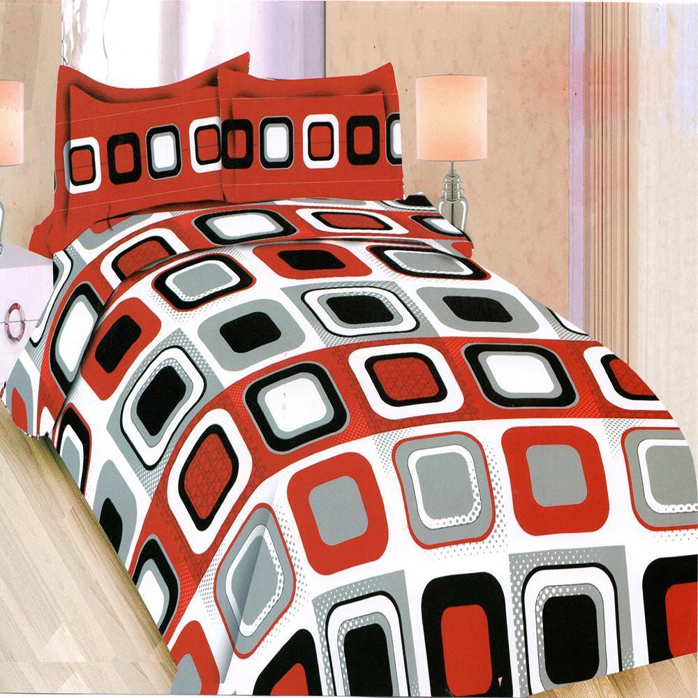Isthana Collection Sprei Bonita 160x200 Red Wood (Buat Kasur No. 2)