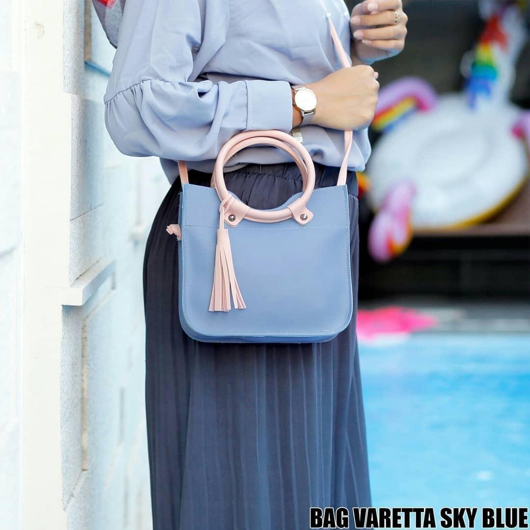 Tas Tote Bag Wanita Terbaru Selempang 2in1 Simple Style Totebag Slempang