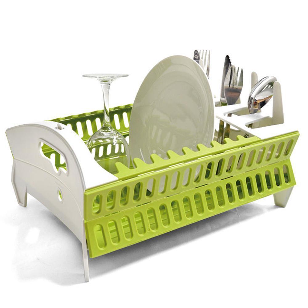 Rak Piring Lipat - Collapsible Compact Dish Rack