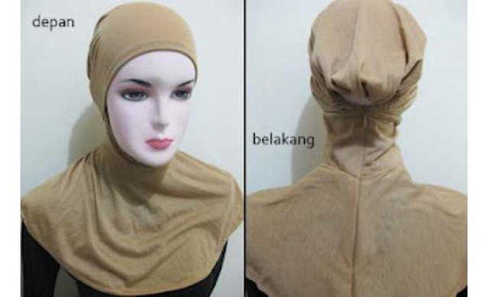 Ciput Ninja Dalaman Jilbab Kerudung Hijab Pashmina Khimar Antem Ninja Resleting Kaos