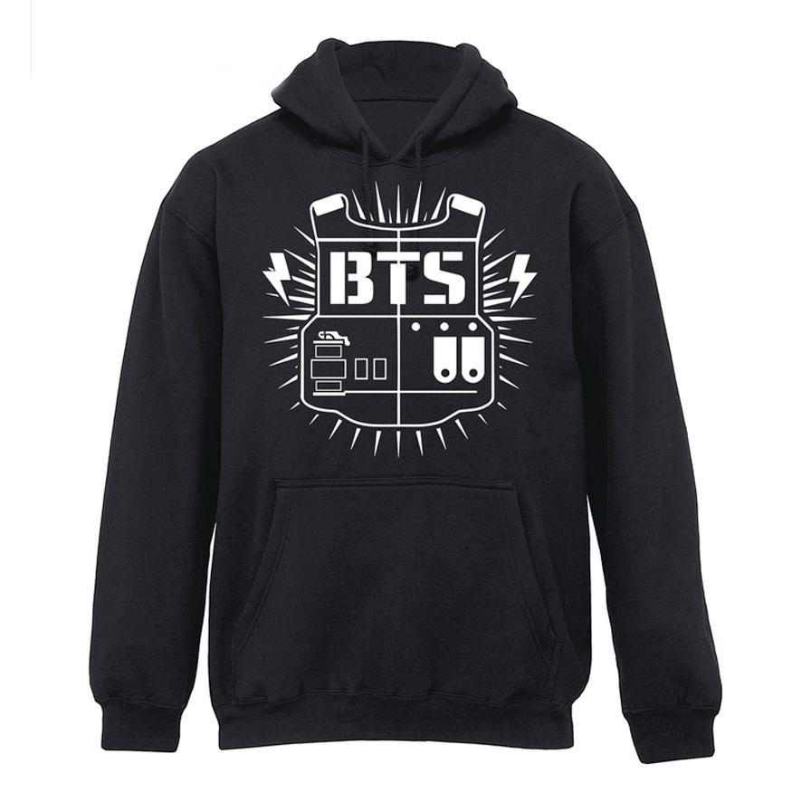 Jaket Hoodie BTS Bangtan Boys Army