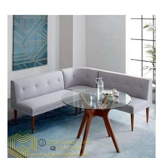 Set Sofa Tamu Sudut Letter L Minimalis