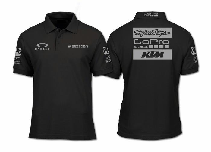 HOT SPESIAL!!! BIG SIZE 3XL 4XL...kaos kerah/polo shirt keren KTM GOPRO OAKLEY - 1P2tca