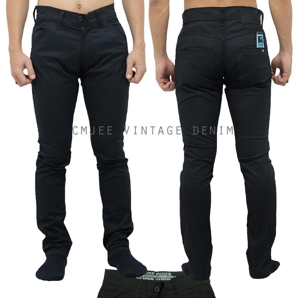 Jual Sw Celana Jeans Pria Pendek Bioblitz Harga Rp 99000 Sleepwalking 2celana Panjang Chino
