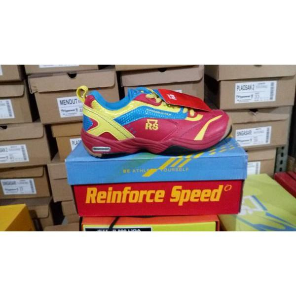 Limited! Sepatu Badminton RS SUPER SERIES 612 JF Murah!